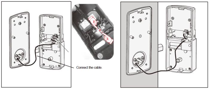 Lockly Smart Lock Interior 1