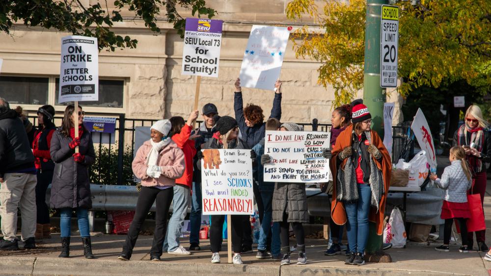 Negotiation 'Good Day' in Chicago Teachers' Strike