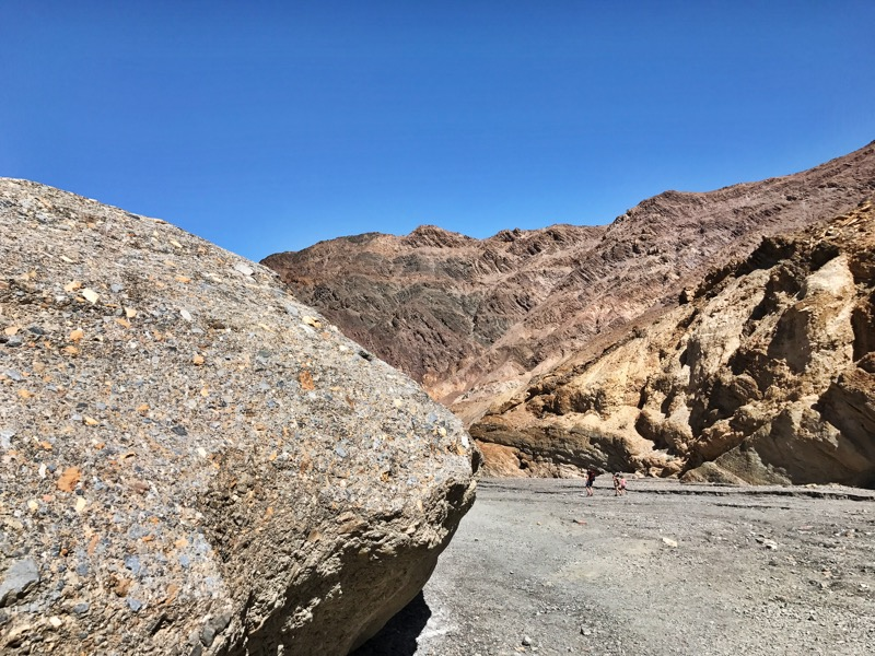Mosaic Canyon In Death Valley NP