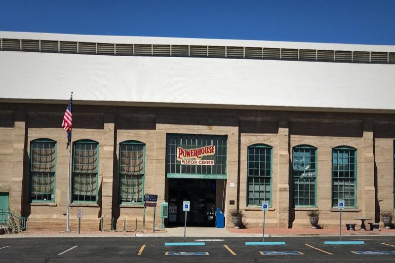 Route 66 Start & Visitor Center At Kingman, AZ