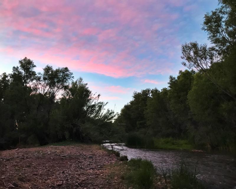 Twilight On The Verde River