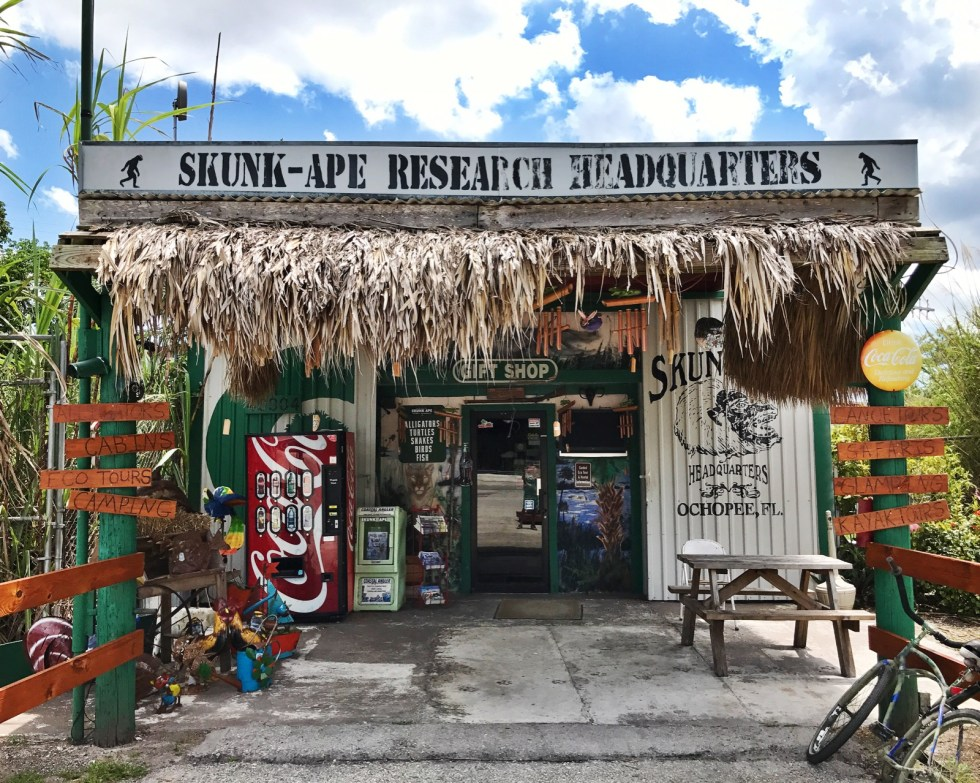 Skunk Ape Research Headquarters