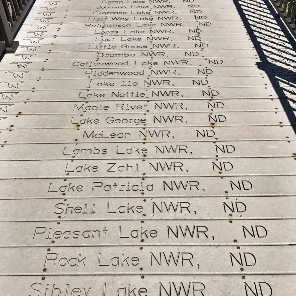Centennial Boardwalk Chronologically Lists All 540 NWRs In Existence In 2003