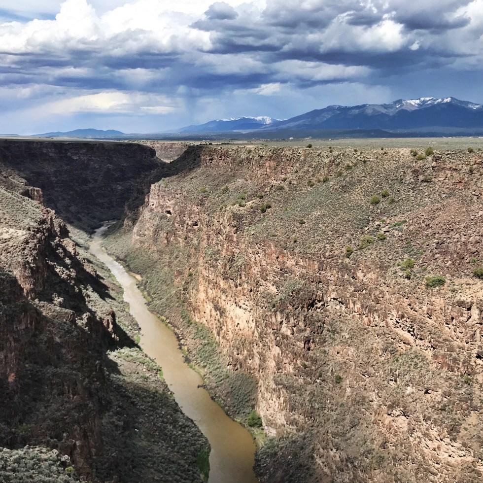 Rio Grande From The Gorge Bridge