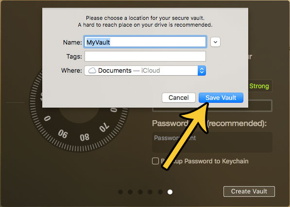require a password to view files and folders on a mac