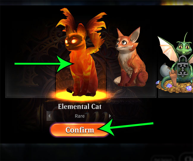 how to change your pet avatar in MTG Arena