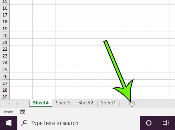 Excel new sheet shortcut