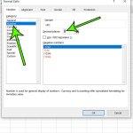 Excel UPC number formatting