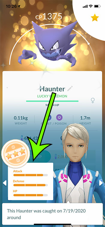 how to appraise a Pokemon in Pokemon Go