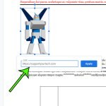 how to hyperlink an image in Google Docs
