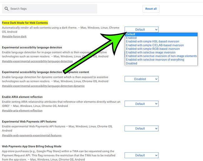 how to dark mode Google Docs on desktop or laptop
