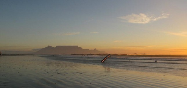 Stand Up Paddling in Cape Town
