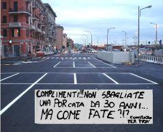 F5 Il parcheggio provvisorio sul Rio San Pietro piccola