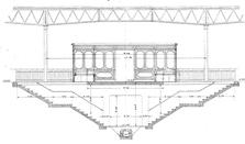 Small F Stazione di Pra' – Sala di aspetto lato mare