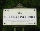 Via della Concordia – La FondAzione PRimA'vera propone di intitolare una via alla sfortunata nave da Crociera
