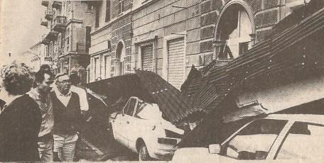 Autovetture distrutte in via Pra'