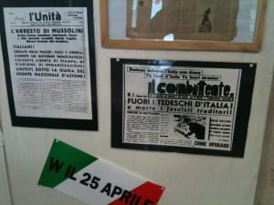 Mostra sulla liberazione organizzata dal PD di Pra'