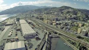 Una veduta del porto