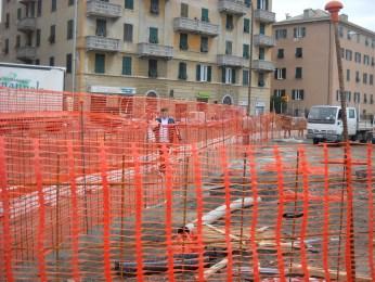 L'accesso pedonale temporaneo alla Fascia di Rispetto alla foce del Rio San Pietro