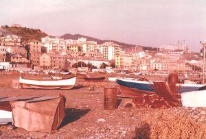 spiaggia Pra' anni 90