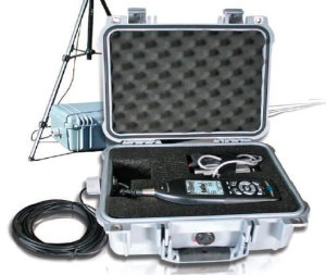 2 Il fonometro Larson-Davis 831 utilizzato per i rilievi