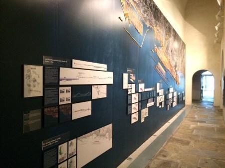 1 Affresco dell'architetto Renzo Piano al MuMa di Genova