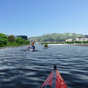1 Vista del canale dalla canoa