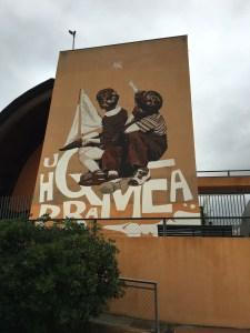 Il grande murales del Centro Remiero