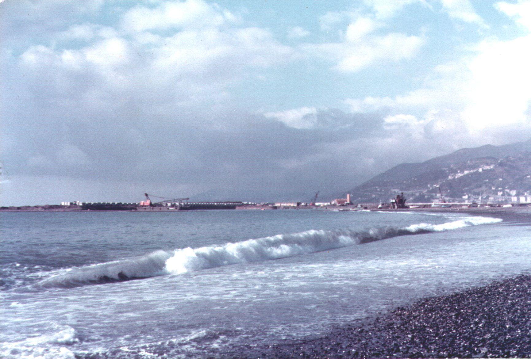 spiaggia Pra' sfondo riemp