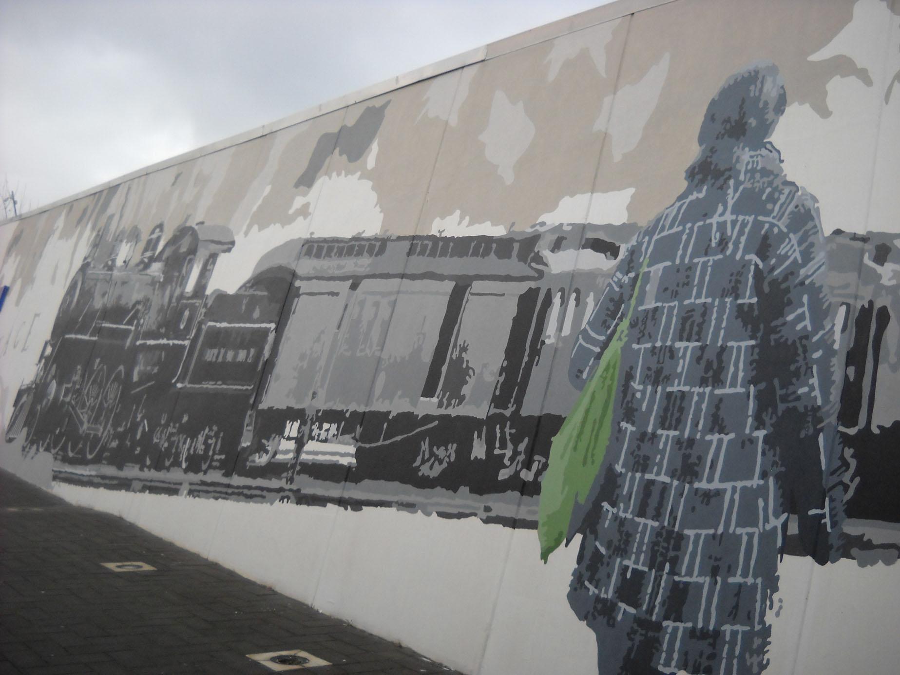 Murale Il viaggio