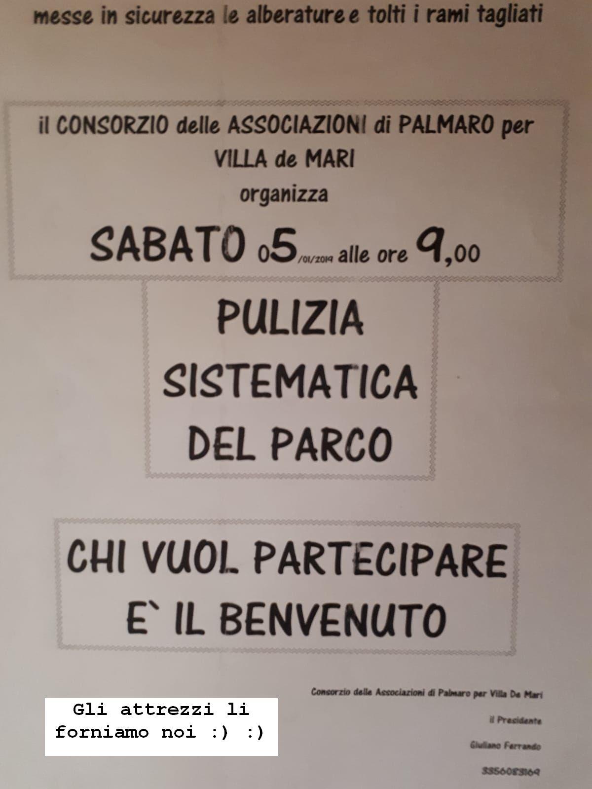 Pulizia in Villa