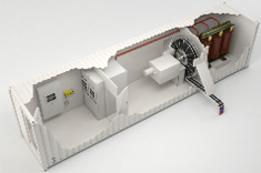 Modulo containerizzato per l'alimentazione da terra