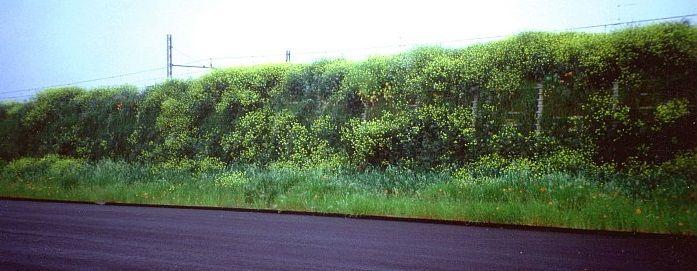 2 – Barriera verde fonoassorbente ferroviaria