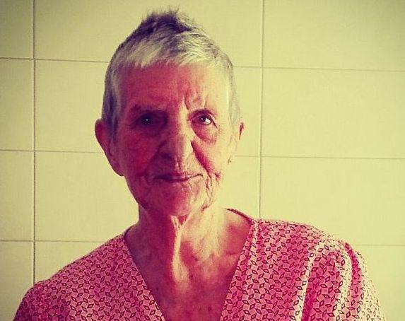 La centenaria praina Alfia Patrone