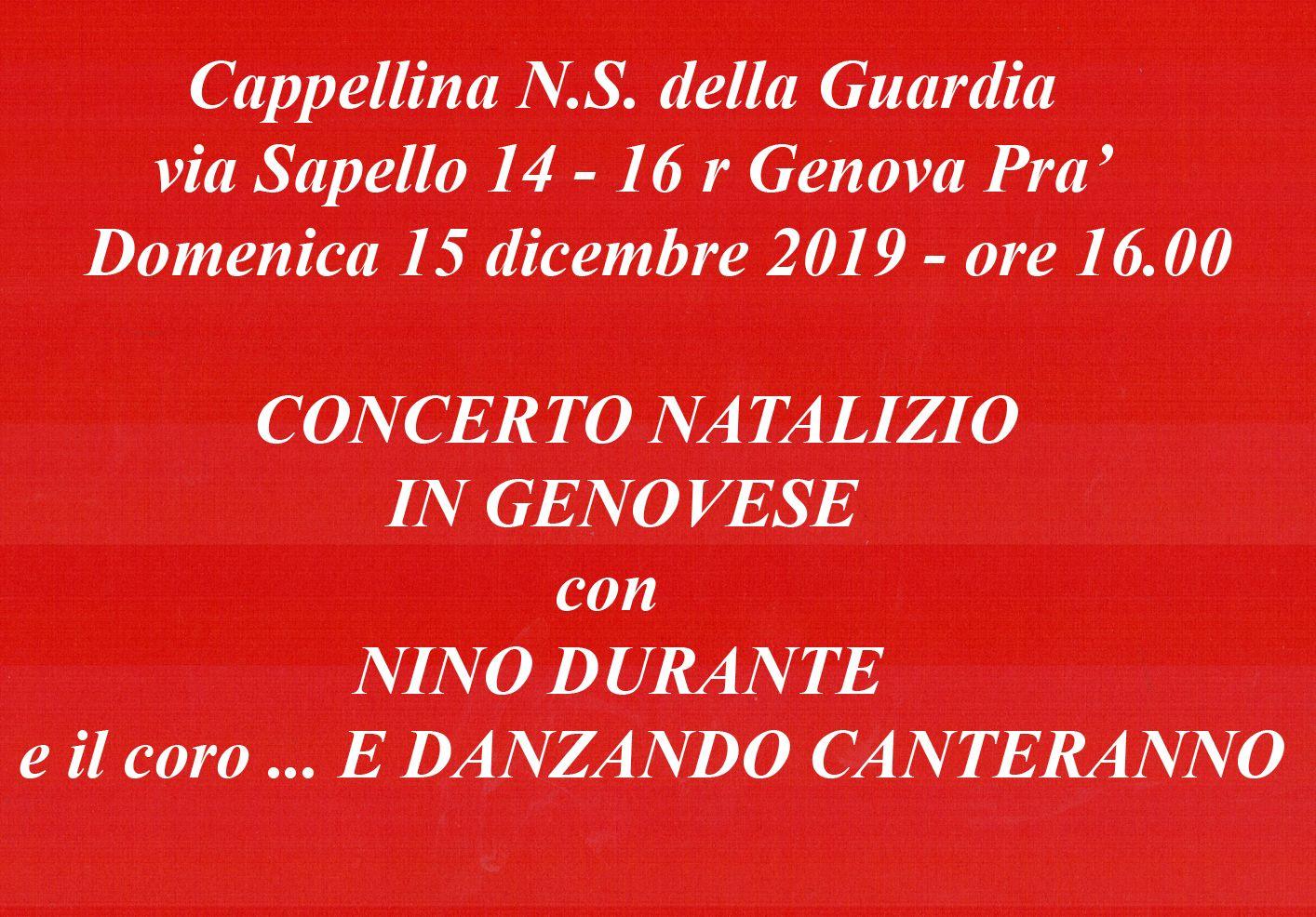Concerto Natale Cappellina 2019