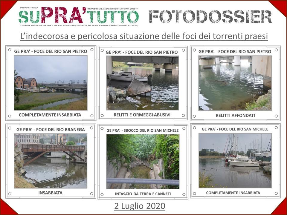 Foto-Dossier SuPra'tutto – Situazione foci torrenti praesi
