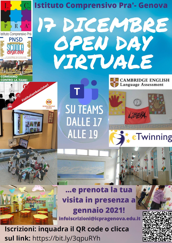 Open day Istituto comprensivo di Pra'