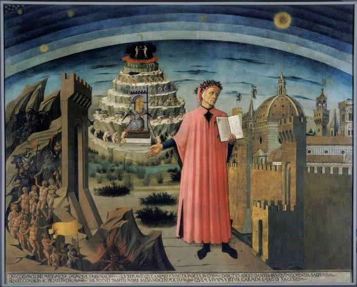 Dante La DivCom illumina Firenze