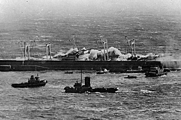 London Valour naufragio