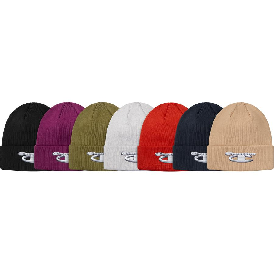Supreme®/Champion® 3D Metallic Beanie