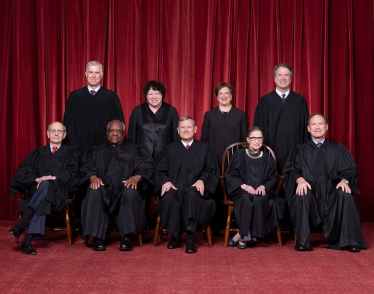 Group Photo of Nime Justices