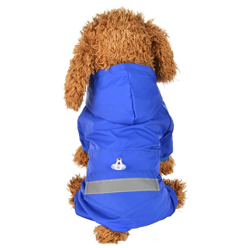 Brooklyn Reflective Dog Rain Coat