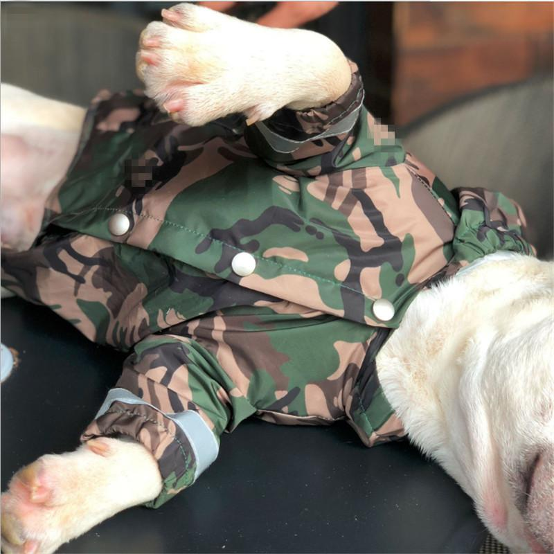 Barking Pup Camouflage Dog Jacket