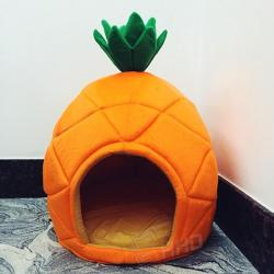 Pineapple Dog Bed