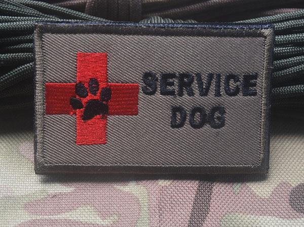 Service Dog Embroidery Patches