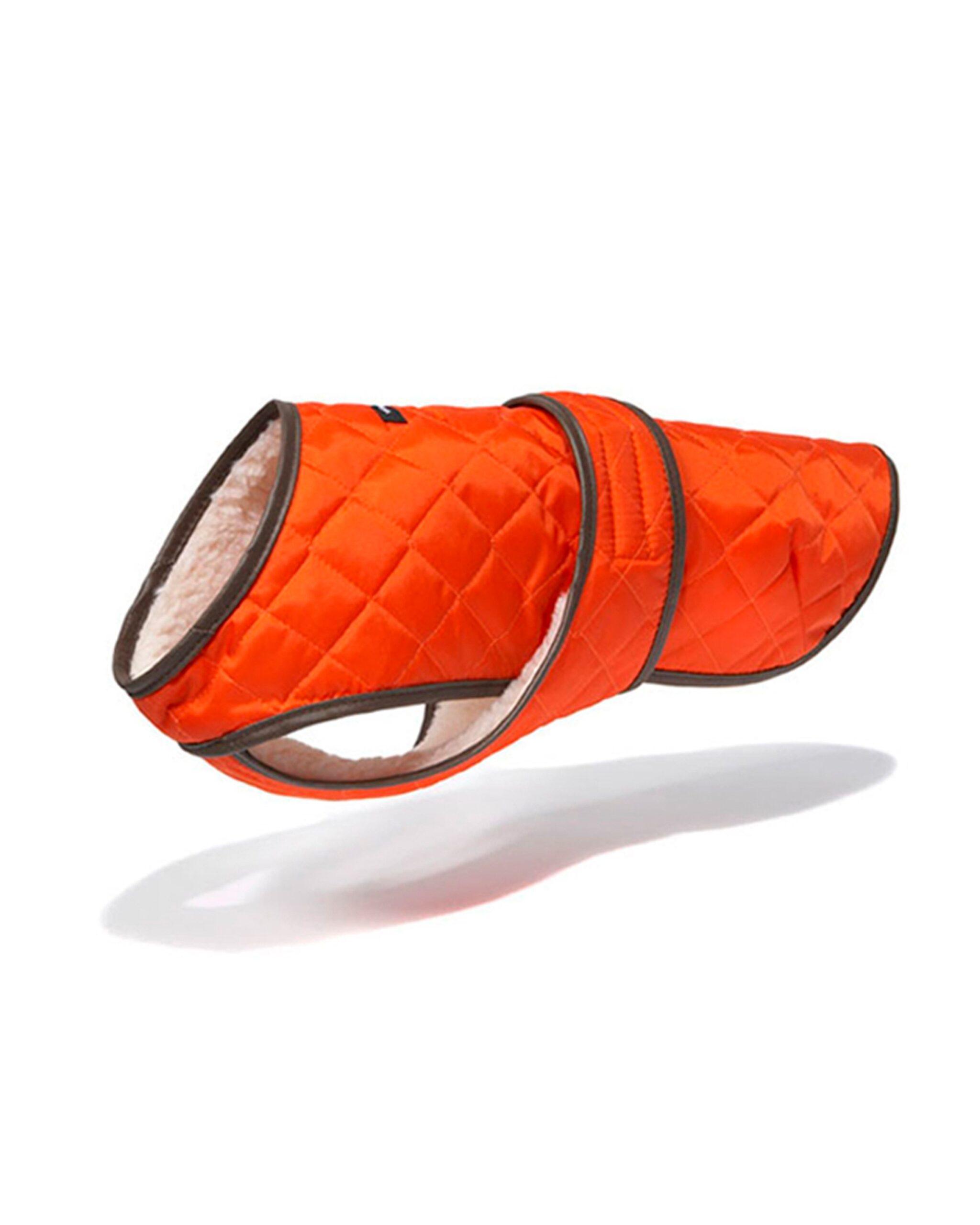 Quilted Dog Vest w/ Berber Fleece