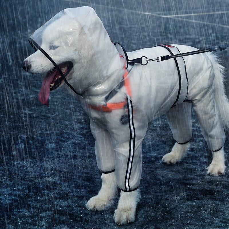 Frida Transparent Dog Raincoat
