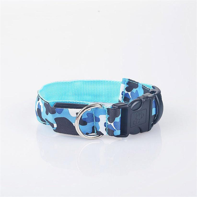 Camouflage LED Dog Safety Collar