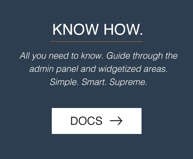 Supreme Widgets WordPress plugin