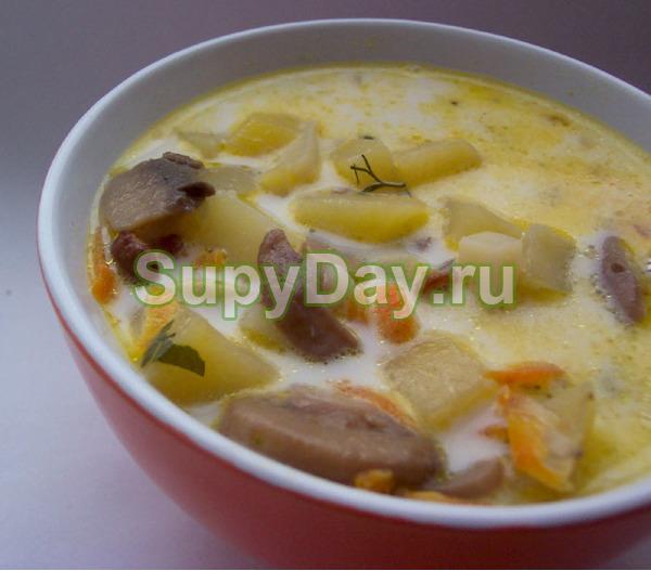 Грибной суп из опят — восхитительное блюдо: рецепт с фото ...